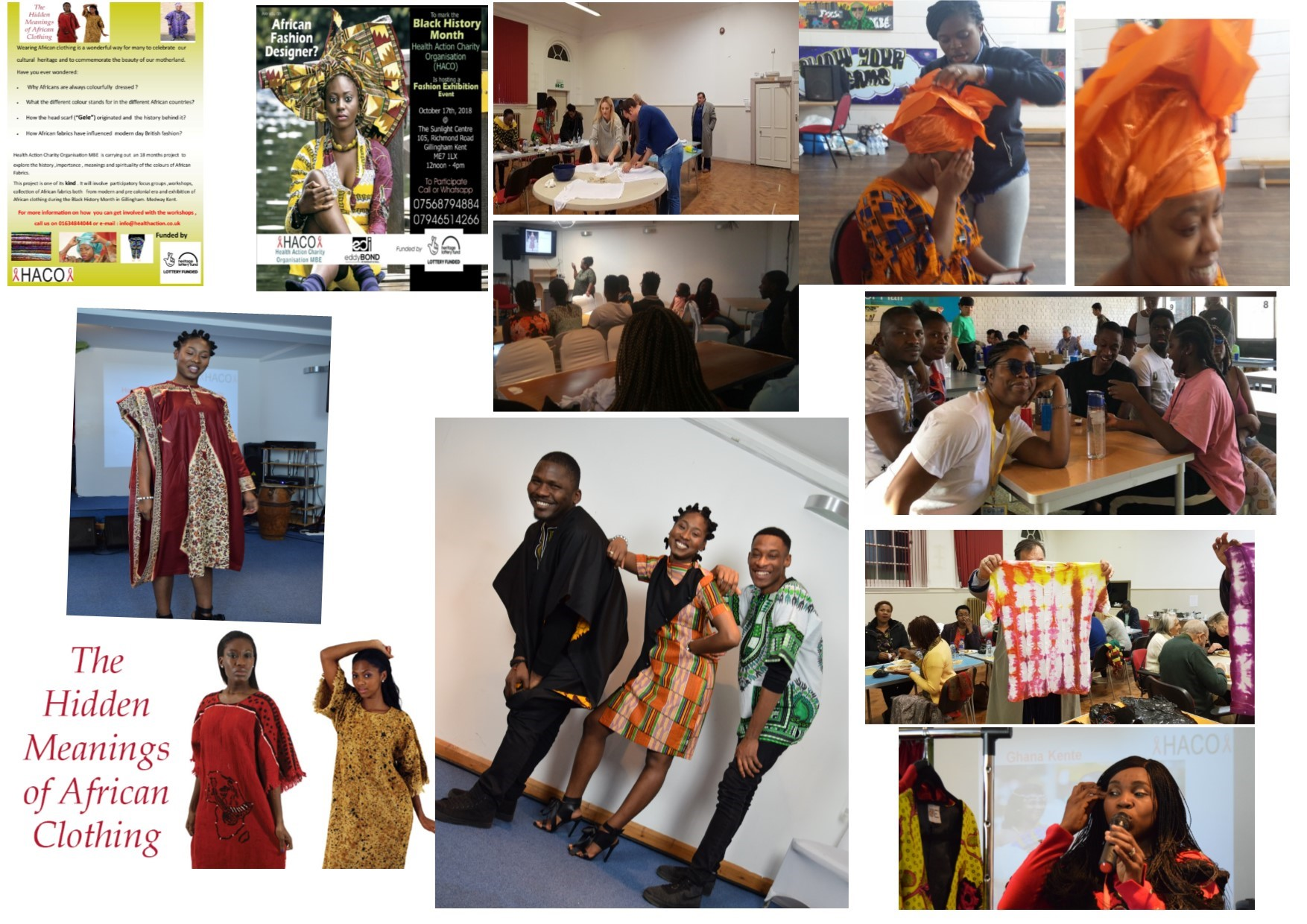 The Hidden Meanings Of African Clothing Influence Of African Fabrics On British Fashion Industry Health Action Charity Organisation